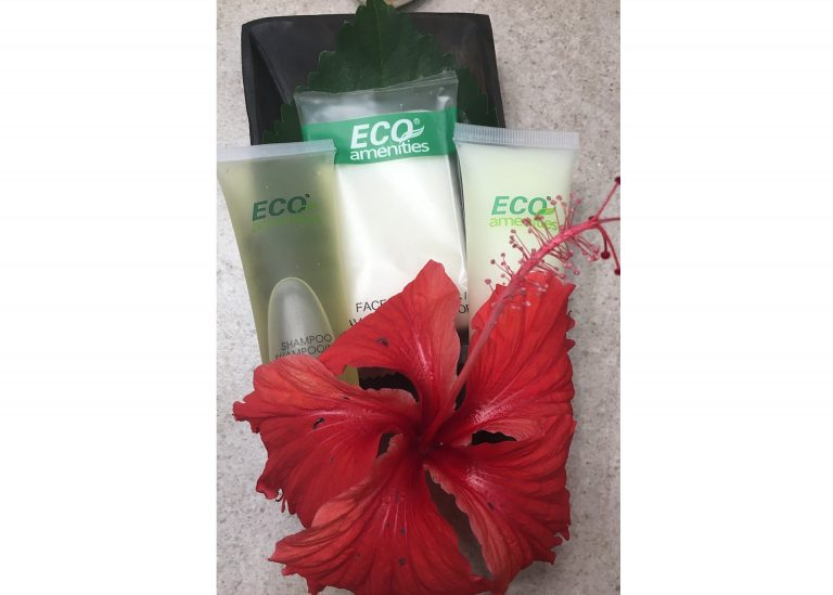 Eco friendly toiletries provided
