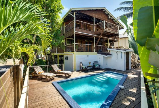 Image of Driftwood Gardens Guesthouse from the pool